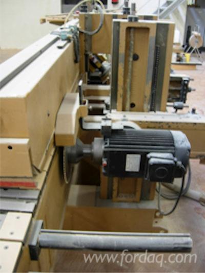 single end tenoning machine