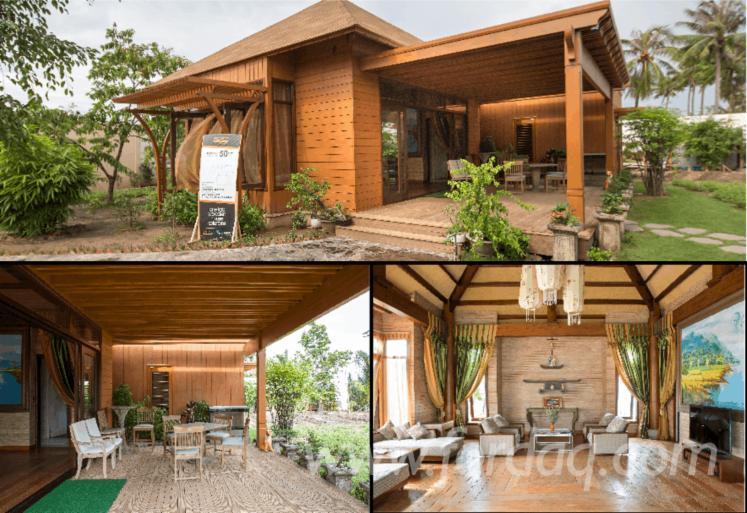Vend Maison À Ossature Bois Radiata Résineux Sud-Américains Vietnam
