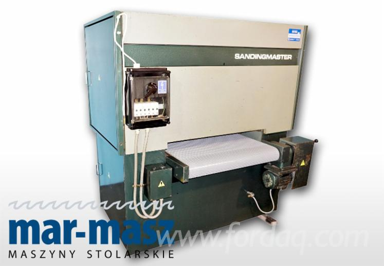Gebraucht-SANDINGMASTER-1996-Schleifmaschinen-Mit-Schleifband-Zu-Verkaufen