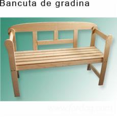 Vend-Bancs-De-Jardin-Design-R%C3%A9sineux-Europ%C3%A9ens-Epic%C3%A9a-%28Picea-Abies%29---Bois