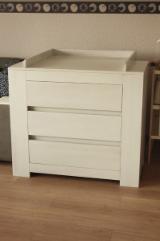 B2B Satılık Çocuk Yatak Odası Mobilya - Fordaq'ta Alın Ve Satın - Bebek Bez Değiştirme Masaları, Dizayn, 50 parçalar aylık