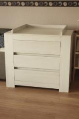 Compra Y Venta B2B De Mobiliario De Dormitorio - Fordaq - Tablas Cambiantes, Diseño, 50 piezas mensual