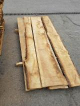 Unedged Timber - Boules Offers from Germany - Oak - lumber KD 10-12%