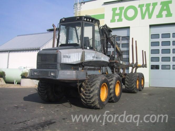 Used-Ponsse---13941-H-2003-Forwarder