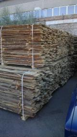 Unedged Softwood Timber - Pine (Pinus Sylvestris) - Redwood Half-Edged Boards 17 mm in Ukraine
