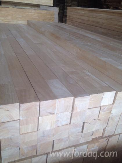 Joined Hardwood Laminated Board ~ Rubber wood laminated board finger joined