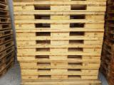 Wood Pallets - Recycled - Used In Good State  Pallet Italy