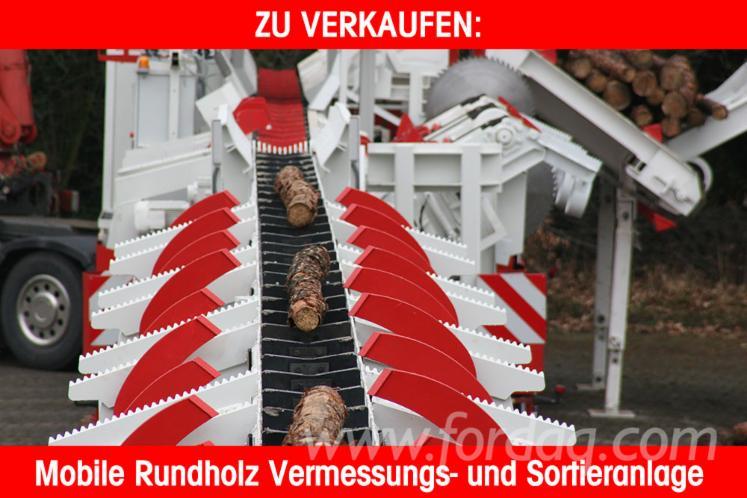 Used Schmidt Sägetechnik 2013 Log Sorting Station For Sale Germany