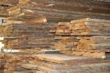 Oak  Unedged Timber - Boules - Oak (European) Half-Edged Boards in Russia
