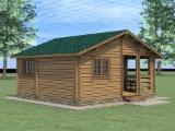 Wood Houses - Precut Timber Framing Pine Pinus Sylvestris - Redwood For Sale - Wooden Houses Pine (Pinus Sylvestris) - Redwood in Belarus