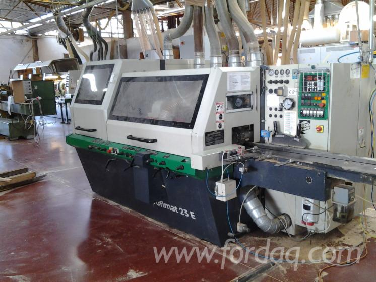 Used-WEINIG-1997-Moulding-Machines-For-Three--And-Four-side-Machining-For-Sale