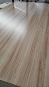 Wood grain melamine plywood poplar core E1 for USA