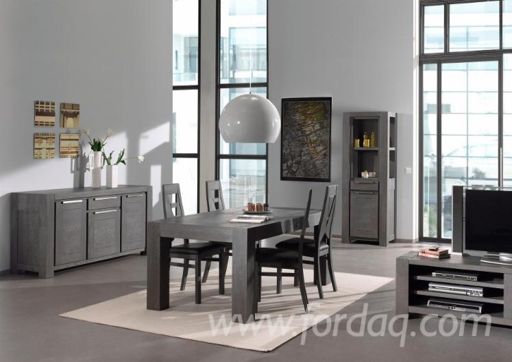 Sala Da Pranzo Contemporanea : Immagini stock sala da pranzo collegata con soggiorno in