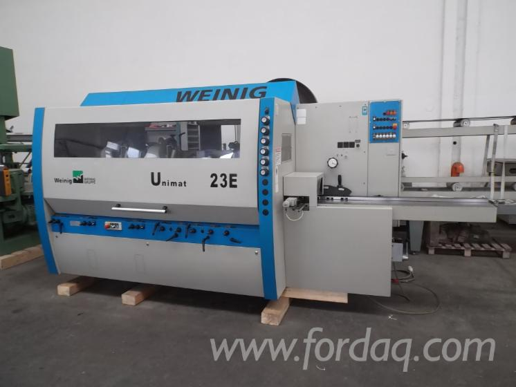 Used-WEINIG-UNIMAT-23-E-2002-Moulding-Machines-For-Three--And-Four-side-Machining-For-Sale-in