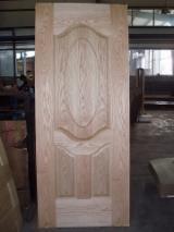 HDF - 5.0mm high quality red oak veneered hdf door skin for UAE