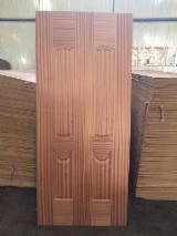 Buy Or Sell Wood High Density Fibreboard HDF - Hdf door skin, sapelli venenered mdf door skin