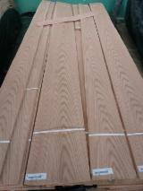 C/C (Crown Cut) Red Oak Veeneer, Red Oak Veneered Plywood, AA Grade