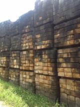 Hardwood  Sawn Timber - Lumber - Planed Timber - Oak (European) Railway Sleepers in France