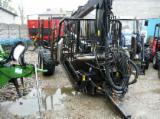 Forest & Harvesting Equipment - Forestry trailer PALMS 122 + Crane 700