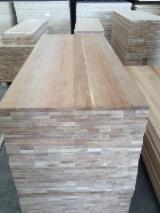 Oak wood, ash wood, solid wood panel, Wood finger joined lamination board