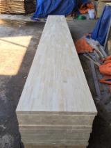 Rubber wood, hevea wood, wood finger joined