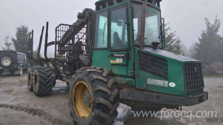 Used-Timberjack-1997-Forwarder-in