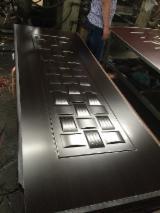 China Composite Wood Products - Melamine MDF/HDF moulded door skin