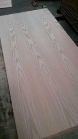 915*2135mm Door Size AA Grade Red Oak Veneered Plywood, Fancy Plywood