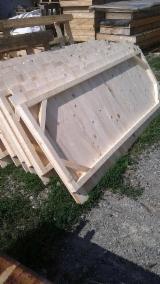 Wood Houses - Precut Timber Framing - Wooden Houses Fir (Abies Alba, Pectinata) in Romania