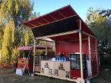 Case Din Lemn Romania - chiosc pentru ceai si bauturi - tea&drinks kiosk