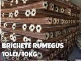 Wood Briquets - Beech Wood Briquets -- mm