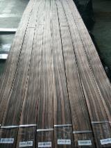 天然单板, 黑黄檀木, 向下刨平