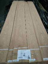 Sliced Veneer For Sale - White oak veneer, q/c & c/c