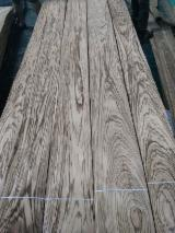 Sliced Veneer For Sale - Zebrano veneer, AA Grade, Q/C & C/C