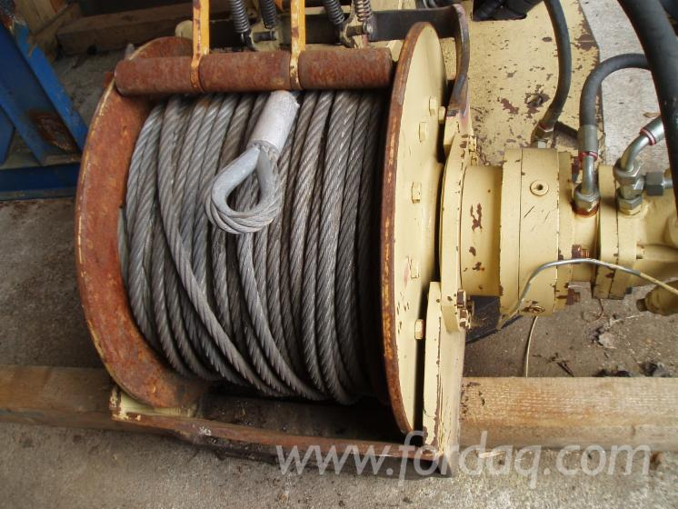 Hydraulic-winches-for
