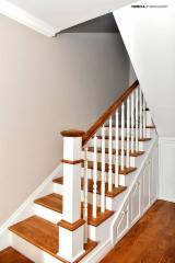 欧洲硬木, 楼梯, 实木, 橡木