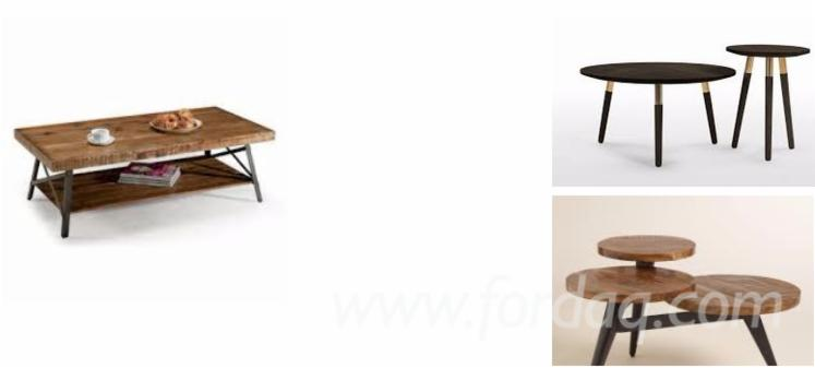 Rubberwood Coffee Table The