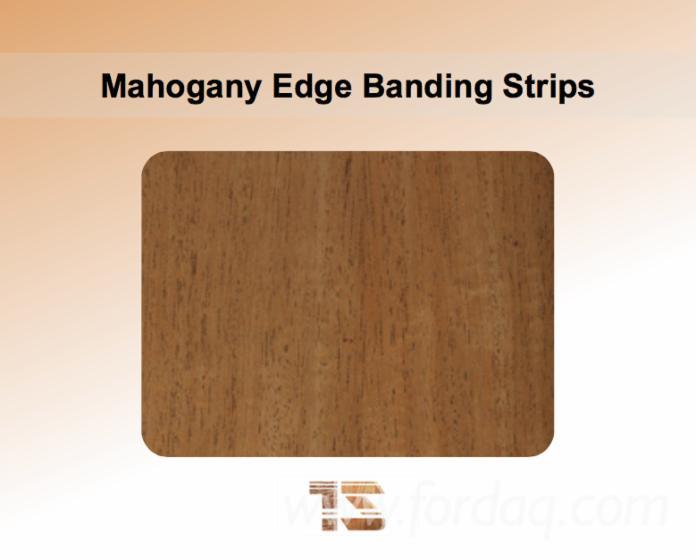 Mahogany Edge Banding Strips