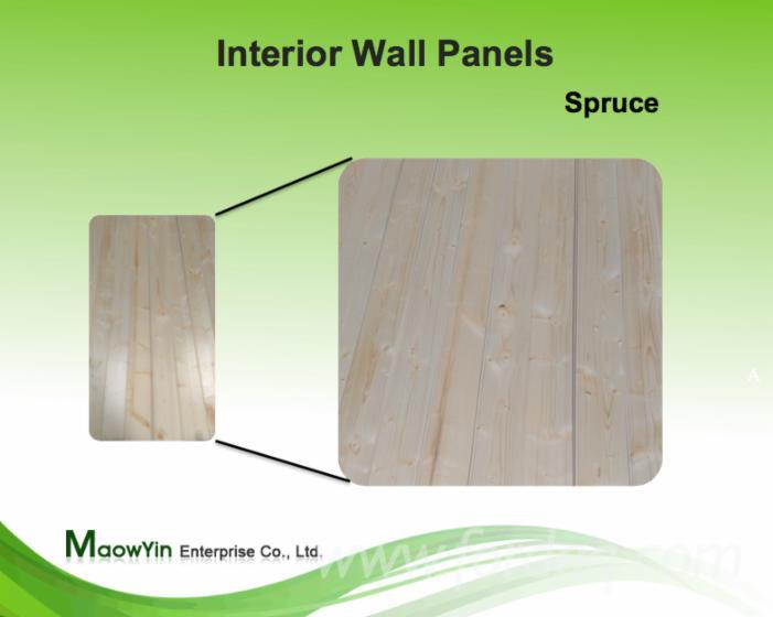 paneles para pared interior lambriz abeto madera blanca taiwn en venta