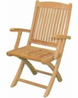 Garden Furniture - FOLDING JAVA ARMCHAIR / FURNITURE