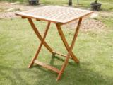 Garden Furniture - FOLDING SQUARE TABLE / FURNITURE
