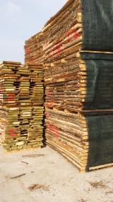 Hardwood  Unedged Timber - Flitches - Boules For Sale - Chestnut  Loose Italy