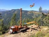 Forest & Harvesting Equipment - Used MM 2009 Mobile Cable Crane Italy