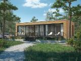 Casa De Madera en venta - Pino Silvestre  - Madera Roja Madera Blanda Europea Polonia