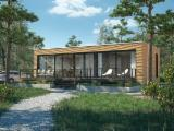 Poland Wooden Houses - SOLID WOODEN HOUSE LOWENERGY HEXAGON TECHNOLOGY