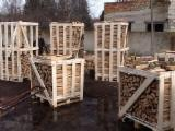 Buy Firewood/Woodlogs Cleaved from Romania - Hornbeam Firewood/Woodlogs Cleaved 10 mm