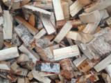 PEFC/FFC Certified Firewood, Pellets And Residues - Mechanically dried Birch firewood