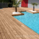 Terrassenholz Zu Verkaufen Frankreich - Cumaru, Rutschfester Belag (1 Seite)