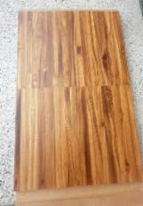 Solid Wood Flooring For Sale - 12 mm Teak Parquet S4S in Italy