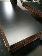 18mm thick black/brown film faced Waterproof Construction Plywood/Film Faced Plywood/Shuttering Plywood